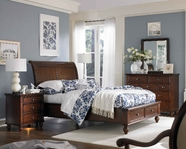 Aspenhome IA200-400-402L-403D455-463-BRH Madison Bedroom Set