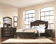 Aspenhome IA22-412-403D-402-453-462 Copper Hill Queen Panel Storage Bedroom Set