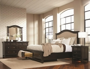 Aspenhome IA22-422-403D-402 Copper Hill Queen Upholstered Panel Storage Bedroom Set