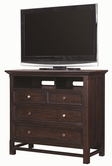 Aspenhome IA22-486 Copper Hill Entertainment Chest