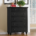 Aspenhome ICB-456-BLK Cambridge Chest