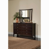 Aspenhome IKJ-454-462 Dresser And Mirror