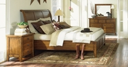 Aspenhome IMR-400-401-402 Cross Country Queen Sleigh Bed