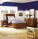 Aspenhome IMR-500-501-502 Cross Country Twin Sleigh Bed