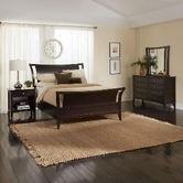 Aspenhome Kensington IKJ-400-401-402L Queen Sleigh Bed