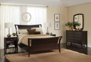 Aspenhome Kensington IKJ-404-405-406L King Sleigh Bed