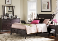 Aspenhome Kensington IKJ-504-506-507D Full Sleigh Bed with storage