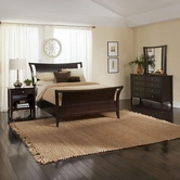 Aspenhome Kensington King Sleigh Bed IKJ Collection