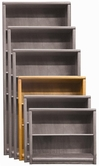 "Aspenhome OA3448 Essentials - Contemporary Bookcase 48""H 3 adj shelves"