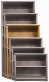 "Aspenhome OA3460 Essentials - Contemporary Bookcase 60""H 1 fixed & 2 adj shelves"