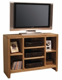 "Aspenhome OL1024 Essentials Lifestyle - Oak 48"" Open TV Console"