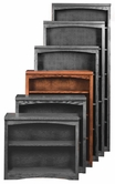 "Aspenhome OM3448 Essentials Mission Bookcase 48""H 3 adj shelves"