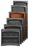 "Aspenhome OM3460 Essentials Mission Bookcase 60""H 1 fixed & 2 adj shelves"