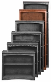 "Aspenhome OM3472 Essentials Mission Bookcase 74""H 1 fixed & 3 adj shelves"