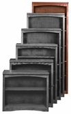 "Aspenhome OM3484 Essentials Mission Bookcase 84""H 1 fixed & 4 adj shelves"
