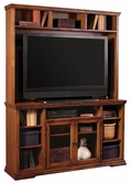 "Aspenhome ON1063-1063H New Traditions Oak 63"" Console and hutch"