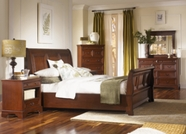 Aspenhome Richmond I40-400-401-402 Queen Sleigh Bed