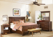 Aspenhome Richmond I40-415-416-406 King Panel Bed