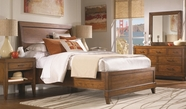 Aspenhome Tamarind Queen Sleigh Bed I68 set