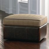 Bassett Furniture 1000-S2 Custom Ottoman Storage Ottoman