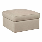 Bassett Furniture 1000-SS Custom Ottoman Square Storage Ottoman