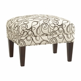 Bassett Furniture 1017-01 Georgia Ottoman
