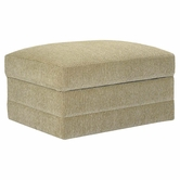 Bassett Furniture 3850-S2U CU.2 Storage Ottoman with Casters