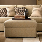 Bassett Furniture 3974-00 Beckham Ottoman