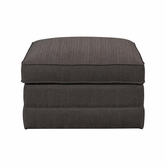 Bassett Furniture 3989-SS Alex *Square Storage Ottoman