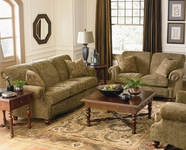 Bassett Furniture 3991-62-42 Club Room Sofa Collection