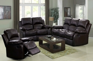 Beverly GS3000BK-AC-L-S Black Reclining sofa set
