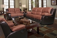 Beverly SF1003-S-L Brown Reclining sofa and loveseat