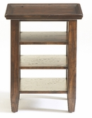 Broyhill 3399-07 Attic Rustic Oak Accessory Table