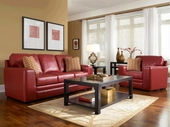 Broyhill 3481 Monza Leather Sofa Set