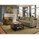 Broyhill 3552 Courtney Fabric Sofa Set