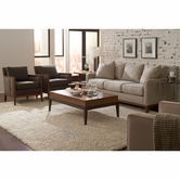 Broyhill 3578-3-1 Suede Living Room Set