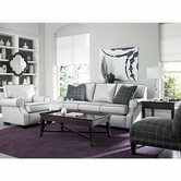 Broyhill 3649 Kingston Leather Sofa Set