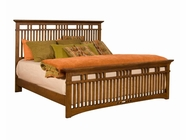 Broyhill 4078-258-259-450 Artisan Ridge King Slat Bed
