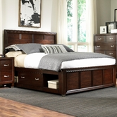 Broyhill 4264-252-263-479-480-4999-707 Eastlake 2 California King Panel Storage Bed With Low Profile
