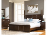 Broyhill 4264-262-263-455 Eastlake 2 California King Poster Bed With Low Profile