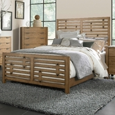 Broyhill 4333-250-251-450 Ember Grove Queen Panel Bed