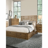 Broyhill 4333-252-257-460-4999-707 Ember Grove Eastern King Panel Storage Bed