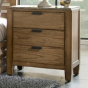Broyhill 4333-293 Ember Grove Three Drawer Nightstand