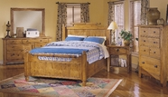 Broyhill 4397-56-57-570 Attic-Heirlooms-Bedroom-Furniture-Beds-Queen-Feather Bed