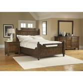 Broyhill 4399-56-57-570-32-36 Attic Heirlooms-Rustic Oak Bedroom Set