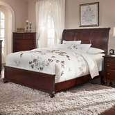 Broyhill 4647-274-275-450 Hayden Place-Dark Cherry Finish Eastern King Sleigh Bed