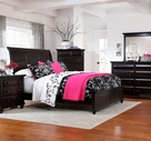 Broyhill 4856-264-265-450 Farnsworth Bedroom King Sleigh Bed