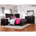 Broyhill 4856-264-265-455 Farnsworth California King Sleigh Bed