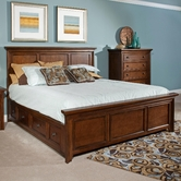 Broyhill 4880-258-259-477-478-4999-707 Abbott Bay Eastern King Panel Storage Bed