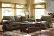 Broyhill 5085 Tahoe Leather Sofa Set